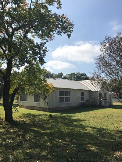 Blanco County Single Family Home Under Contract: 617 9th Street