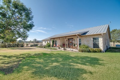 Fredericksburg Single Family Home For Sale: 3568 N State Hwy 16