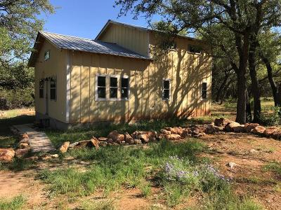 Blanco County Single Family Home Under Contract W/Contingencies: 2041 N Us Hwy 281