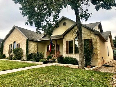 Fredericksburg TX Single Family Home For Sale: $449,500