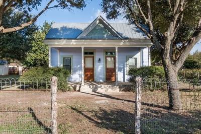 Fredericksburg Single Family Home For Sale: 405 S Creek St