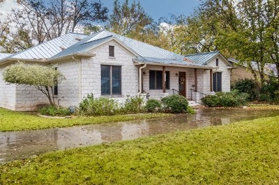 Fredericksburg Single Family Home For Sale: 106 E Morse St
