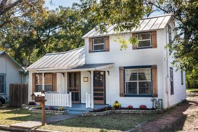 Fredericksburg Single Family Home For Sale: 209 W Peach St