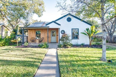 Fredericksburg Single Family Home Under Contract W/Contingencies: 222 W Centre St