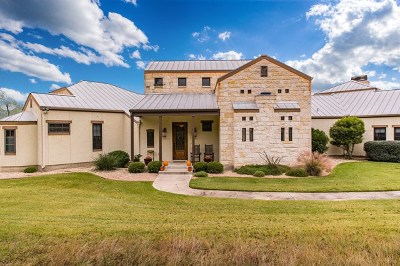 Fredericksburg Single Family Home For Sale: 840 Scenic Vista Dr