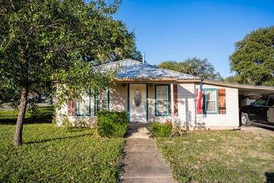 Blanco County Single Family Home Under Contract W/Contingencies: 104 Ranchview