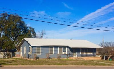 Llano Single Family Home For Sale: 1601 S Ford St