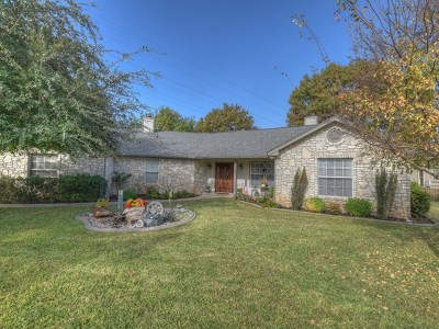 Llano County Single Family Home For Sale: 200 Bridgepoint
