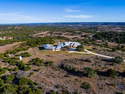 Kerr County Single Family Home For Sale: 135 Lost Valley Dr