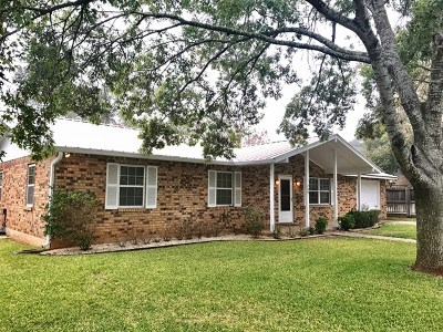 Fredericksburg TX Single Family Home Under Contract W/Contingencies: $249,900