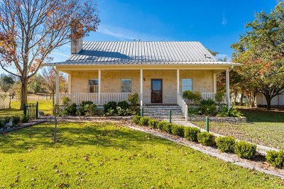 Fredericksburg Single Family Home Under Contract W/Contingencies: 558 Southwoods Dr