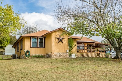 Kerrville Single Family Home Under Contract W/Contingencies: 1525 Ranchero Rd