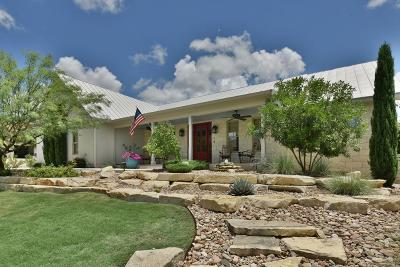 Fredericksburg Single Family Home For Sale: 2305 Summit Forest