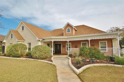 Gillespie County Single Family Home For Sale: 136 Stone Canyon