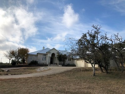Gillespie County Single Family Home For Sale: 476 Leipold Lane