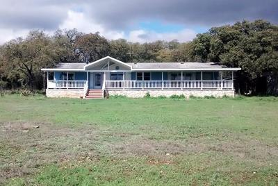 Blanco County Single Family Home For Sale: 104 Packsaddle Dr