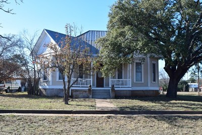 Mason County Single Family Home Under Contract W/Contingencies: 1105 Ischar St