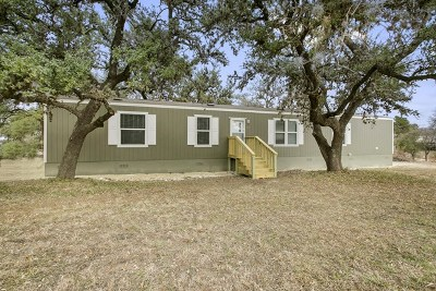 Blanco County Single Family Home Under Contract: 102 Heritage Bend