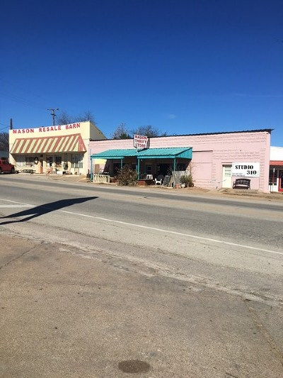 Mason County Commercial For Sale: 336 NW Ft McKavett