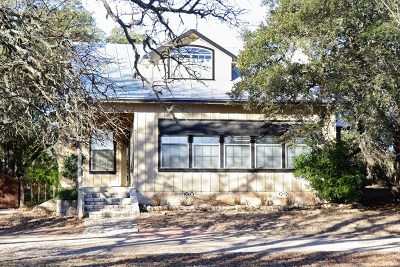 Gillespie County Single Family Home Under Contract W/Contingencies: 664 Dietrich Rd