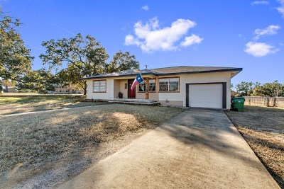 Blanco County Single Family Home Under Contract: 201 N Avenue Q