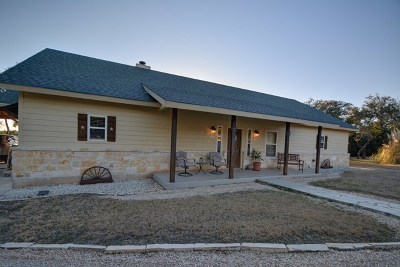 Kerr County Single Family Home Under Contract: 988 Estates Dr.