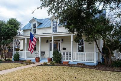 Gillespie County Single Family Home For Sale: 309 E Travis St