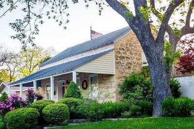 Gillespie County Single Family Home For Sale: 108 N Acorn St