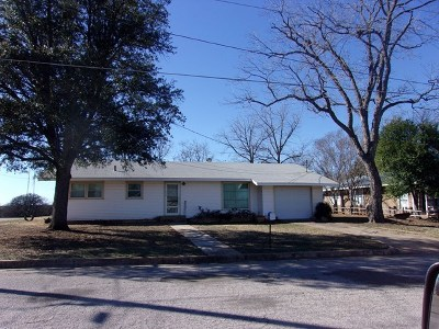 Llano County Single Family Home For Sale: 1207 Flag St