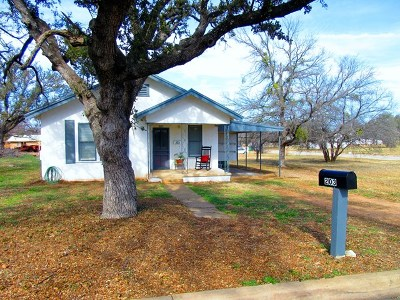 Llano County Single Family Home Under Contract: 203 W College St