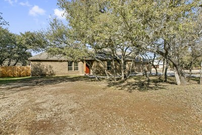 Blanco County Single Family Home For Sale: 100 Leaning Oak Cir