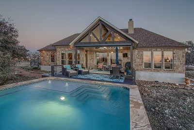 Fredericksburg Single Family Home Under Contract W/Contingencies: 7784 Pecan Creek Rd