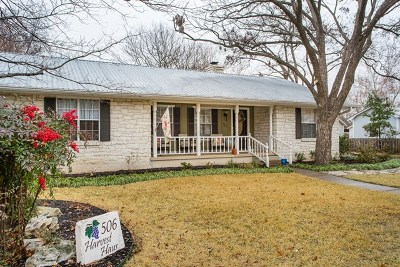 Gillespie County Single Family Home For Sale: 506 N Lincoln