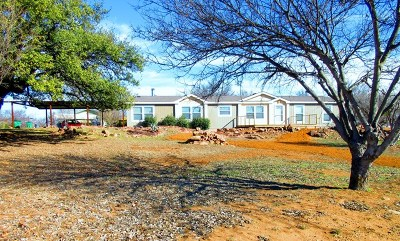 Llano Single Family Home Under Contract: 1001 E Green St