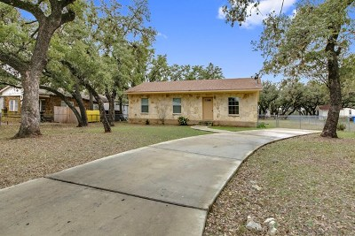 Blanco County Single Family Home Under Contract W/Contingencies: 207 Old Austin Hwy
