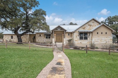 Fredericksburg TX Single Family Home For Sale: $724,900