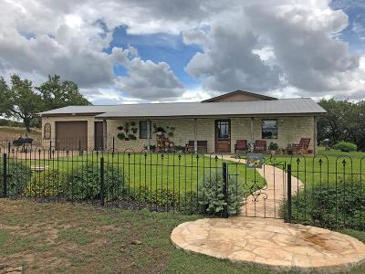 Gillespie County Single Family Home For Sale: 1833 Doss-Cherry Spring Rd