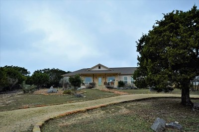Kerr County Single Family Home For Sale: 198 W Rim Rock Circle