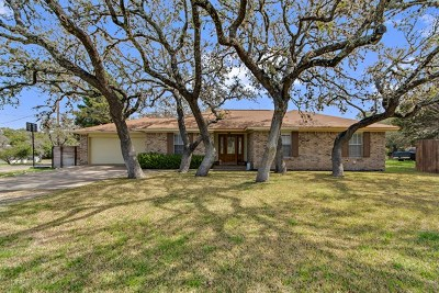 Blanco County Single Family Home Under Contract: 601 Ranchview