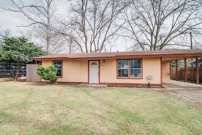 Gillespie County Single Family Home For Sale: 811 N Pecan St