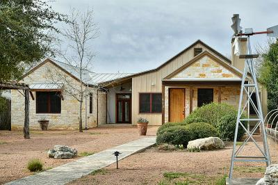 Fredericksburg TX Single Family Home For Sale: $789,000