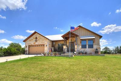 Blanco County Single Family Home Under Contract W/Contingencies: 138 N Calvin Barrett