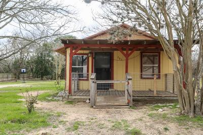 Fredericksburg TX Single Family Home For Sale: $182,500