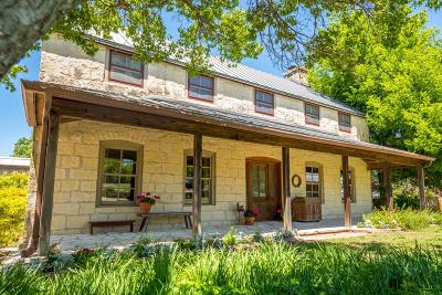 Gillespie County Single Family Home For Sale: 537 Crenwelge Rd