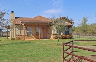 Gillespie County Single Family Home For Sale: 460 Goehmann Lane
