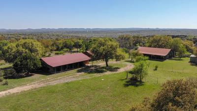 Blanco County Single Family Home For Sale: 406 Weddle Rd
