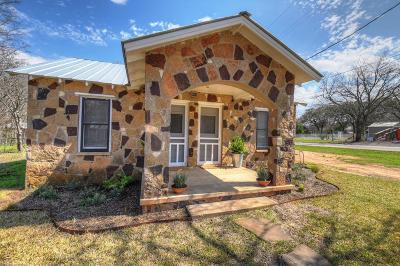 Blanco County Single Family Home For Sale: 400 S Lbj Drive