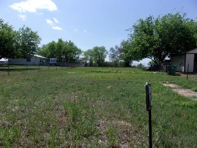 Llano Residential Lots & Land For Sale: 800 Brown St.