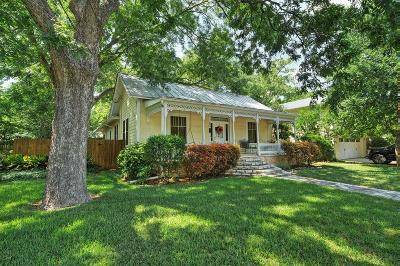 Fredericksburg Single Family Home For Sale: 206 S Bowie