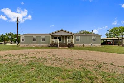 Blanco County Single Family Home Under Contract: 108 Spring View Dr